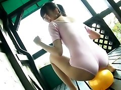 Exquisite Japanese kitty Sumire Aihara shows her cameltoe