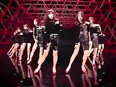 hot Korean gals dance glamour