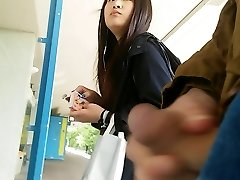 japanese girl takes a look