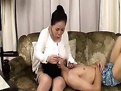 Amateur Hairy Asian with Big Nips