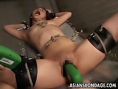 Japanese bondage plumbing machine
