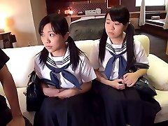 Schoolgirl Three Way - JapansTiniest