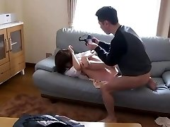 Asian Stepmother Fujisaki Used And Abused