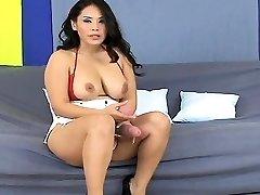 Unusual women ream the biggest belt cocks and spray jizm al