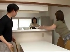 Japanese Mother in law in Step Sons Raw Desire