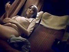 Mature nymph on night bus
