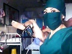 Japanese nurse fisting