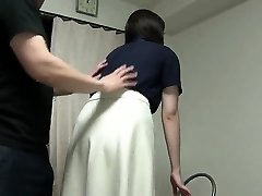 Subtitled Japanese crazy gang blindfolded blowjob game