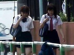 Japanese Panties-Down Sharking - College Girls Pt 2- CM