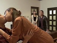 Exotic Japanese chick in Fabulous Gang Sex, Wife JAV movie