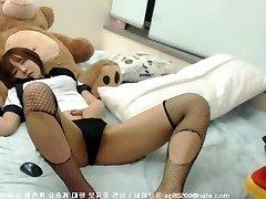 Shy Korean Webcam Display