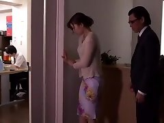 Greatest Japanese chick Natsume Inagawa in Unbelievable Toys, Office JAV scene