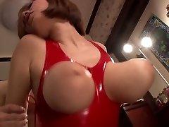 Amazing Japanese model in Exotic HD, Latex JAV episode