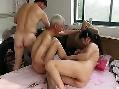 Asian Granddads in Action