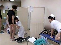 Stellar Chinese model Yuri Aine, Yu Kawakami, Aya Sakuraba in Super-naughty Nurse JAV video
