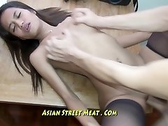 Pure Petite Bugger Bitch Gets Thai Membranes Ravaged