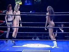 Naked Womens Wrestling League