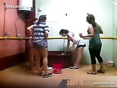 ###ping chinese femmes bathing