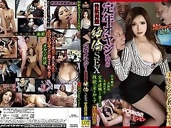 Best Asian mega-bitch Marina Aoyama in Crazy cunnilingus, gangbang JAV video