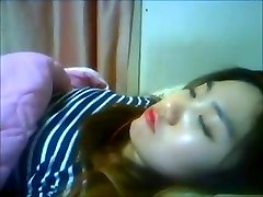 Korean Mega-slut Yein Jeong jacks on cam 6