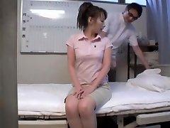 Nude Japanese girl strewn in hidden camera massage video