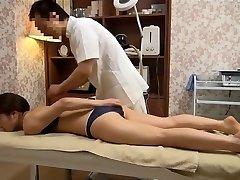 Fragile Wife Gets Perverted Rubdown (Censored JAV)