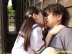 Jav Idol Abe Mikako Ravages On The Back Of Mini Camper Camper