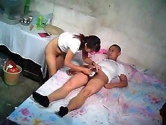 Asian John With Young Escort