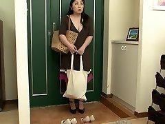 Horny Japanese chick in Amazing Lesbian, Mature JAV video