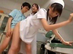 Exotic Chinese model Yuria Shima, Azusa Ito in Best Nurse JAV scene
