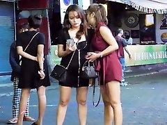 Pattaya Walking Street Nightlife and transgirl,Thailand 2020