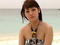 tesão modelo japonês rei mizuna exóticos adolescentes, praia jav clip