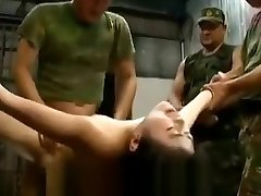 Captured asian women abused and gangbanged by soldiers