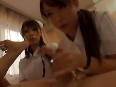 Incredible Japanese chick Yuria Shima, Azusa Ito in Astounding Nurse, Rimming JAV video