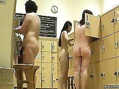 ###ping korean public shower