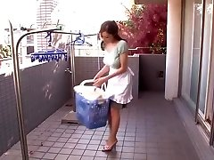 Horny Japanese chick Julia in Amazing Wifey, Big Jugs JAV video