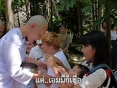 Thai sweetheart queen gets shaved and defeminized