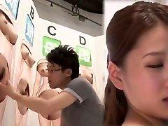 fabuloso japonesa vagabunda no louco dedilhado, cunnilingus jav filme
