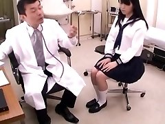 Japanese Mummy and Daughter Health Center Visit, Male Doctor Sexual Abuse, Act - 1 of 2