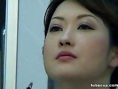 Cosplay Pornô: Asiáticos Enfermeiros Cosplay Japonês MILF Enfermeira Fodida Médicos Office parte 1