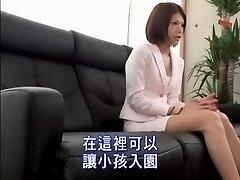 Elegante Jap bimbo dedos e fodido em câmera escondida
