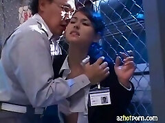 Beautiful Lady Announcer Gargling Cocks