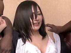 Horny Japanese nymph in Exotic Interracial, HD JAV clip