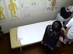 Real oculto cam sexo para menina Asiática na casa de massagem