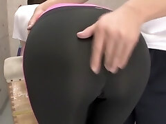 Crazy Japanese slut in Exotic Gym, MILF JAV flick