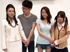 Fabulous Japanese slut in Crazy Fingering, Cunnilingus JAV flick
