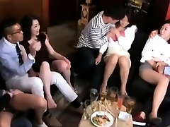 Swingers swap partners and huge group sex
