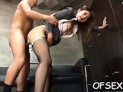 Hot japanese floosy Sumire fucking a twink