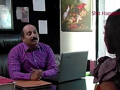chefe índio foder quando ela vem para a entrevista