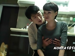 o coreano pornô de yoga do sexo